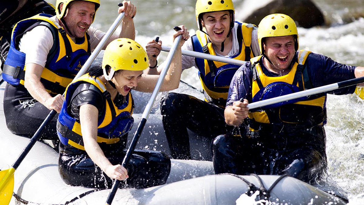 Rafting, Adventure Caving, Zip-lining&Country stay