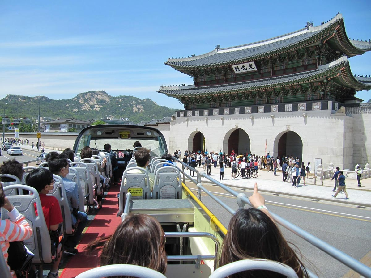 Two in One Package : Seoul City Tour Bus and All Day-Ticket for Lotte World Adventure