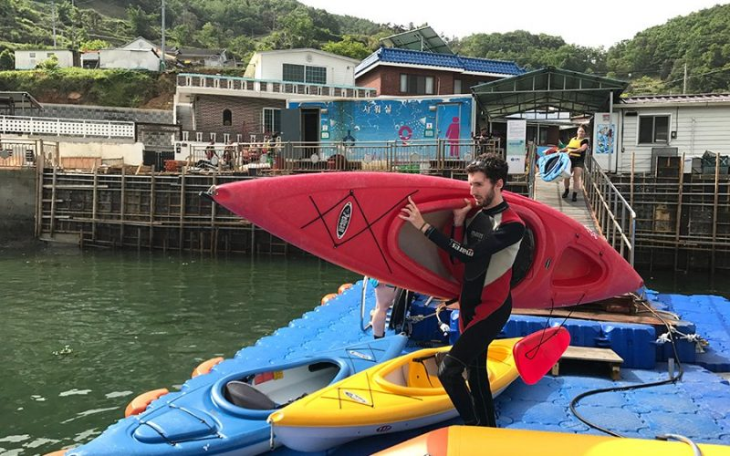 SEA KAYAKING, FISHING AND COASTEERING - Adventurekorea